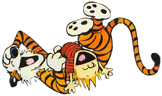 Christmas Flash Mob Calvin_hobbes_lachen