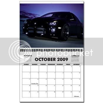 Project Ghost Calendarcar
