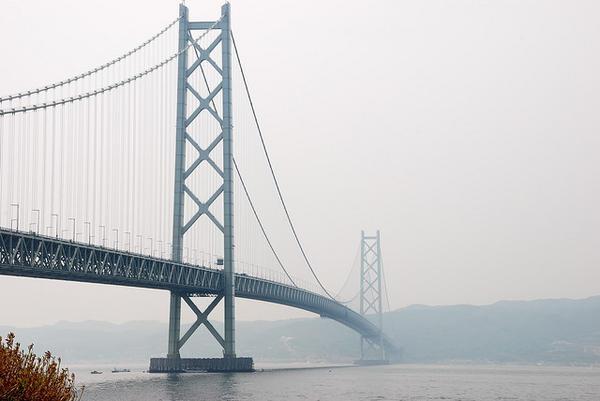 [Tin tức][Đời sống - Văn hóa] 13 nơi tệ nhất ở Nhật Bản khi động đất lớn Akashi-Kaikyo-Bridge-569