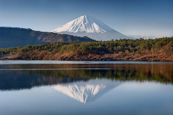 [Du lịch] 9 địa điểm ngắm núi Phú Sĩ đẹp nhất Lake-saiko-1030