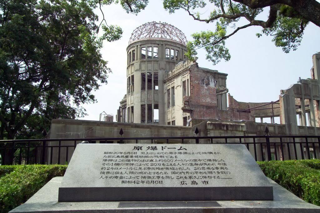 [Du lịch] 10 địa điểm bạn nên tham quan khi đến Nhật Bản HiroshimaGembakuDome6747