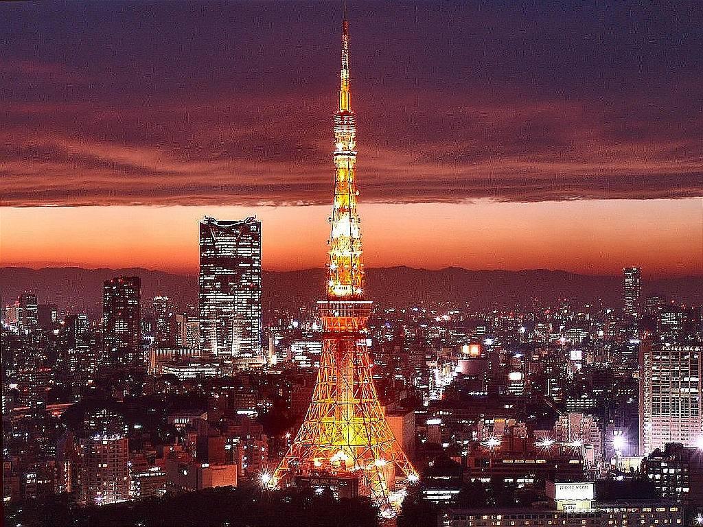 [Du lịch] 10 địa điểm bạn nên tham quan khi đến Nhật Bản Tokyo-Tower-Japan