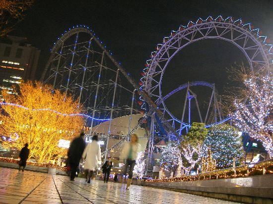 [Du lịch] 10 địa điểm bạn nên tham quan khi đến Nhật Bản Tokyo-dome-city-amusementpark