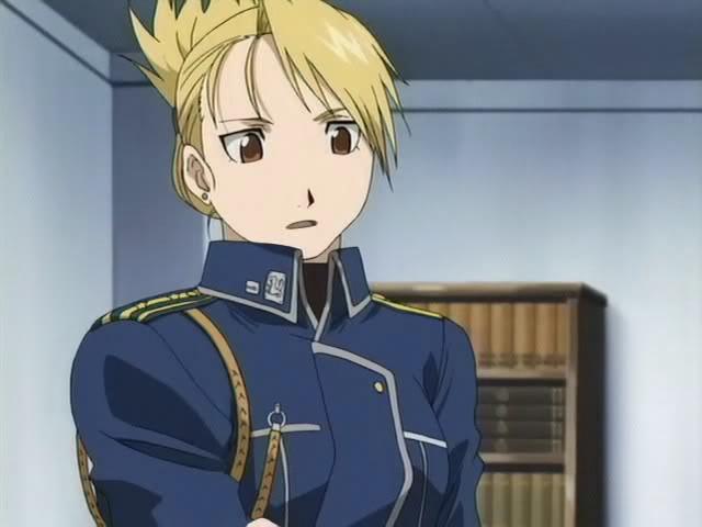 Juego de personajes de anime................yayyy?? - Página 2 Riza-hawkeye