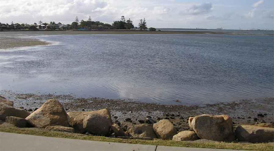Brisbane bayside beautiful coast line,a little piece of it! Bayside-pic