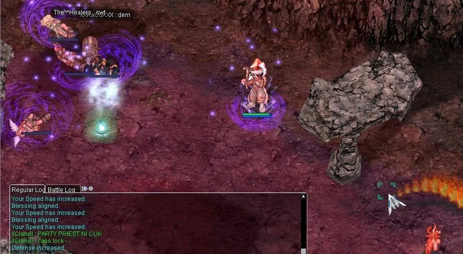 Clanx hunting items and get killed (Reunion RO) Raijiero1