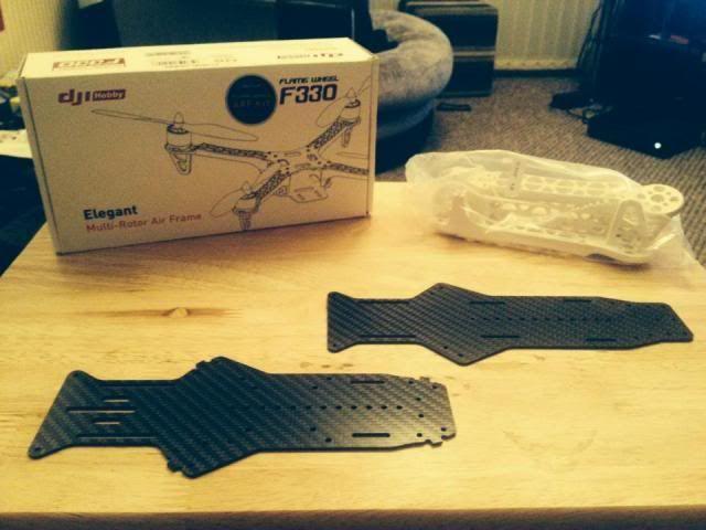 DJI F330 FPV Carbon Special 1