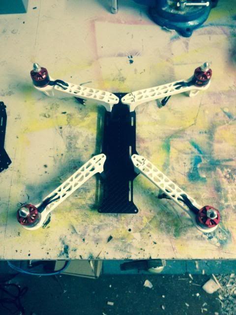 DJI F330 FPV Carbon Special 6
