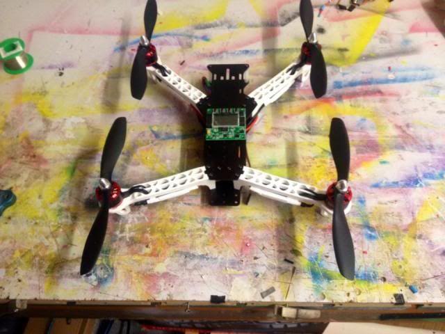 DJI F330 FPV Carbon Special 8