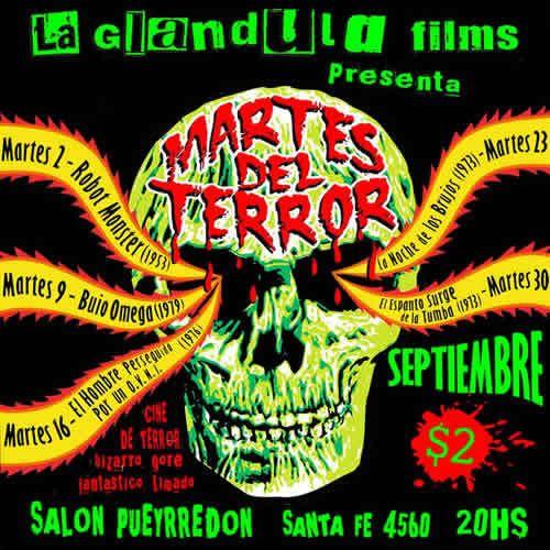 Martes de Terror en Buenos Aires!!! Martesdelterrorseptiembre1