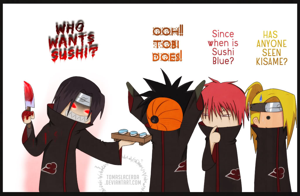 Naruto Fun Pics Akatsuki___Itachi_Loses_it_by_Tomas
