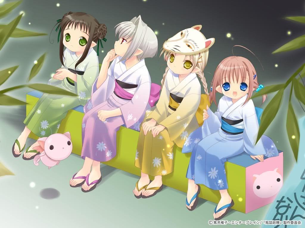 Mot japonais en dessins Anime_Cute