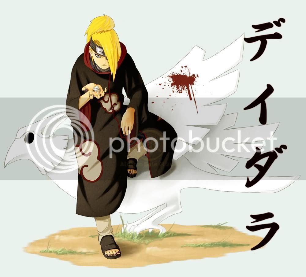 ¿Cual es tu ninja favorito? Deidara-2