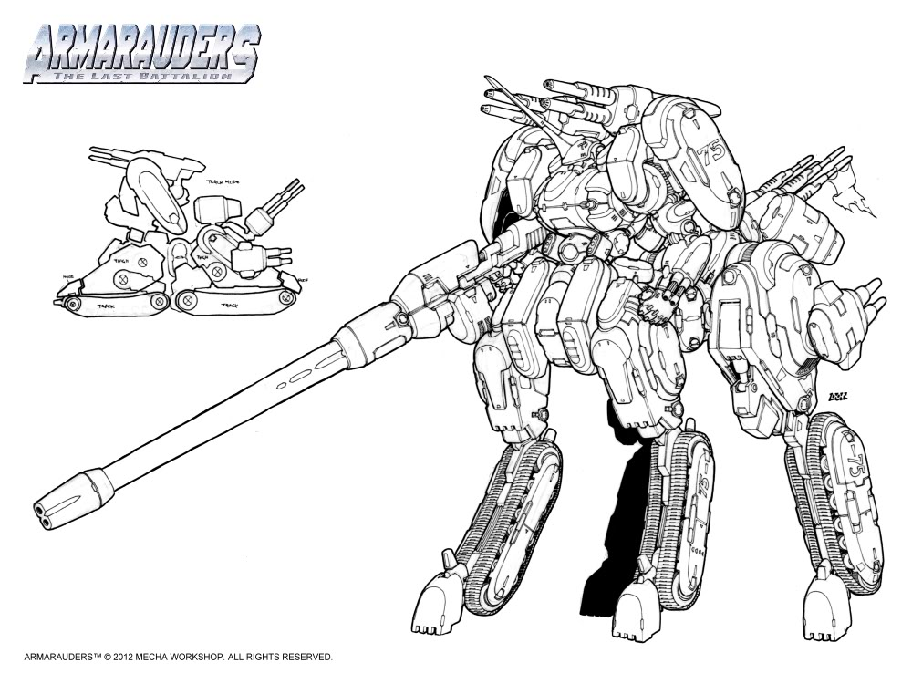 Mecha Workshop: Armarauders = AWESOME!!!! LR-Centaurian-Command_Chiron-04