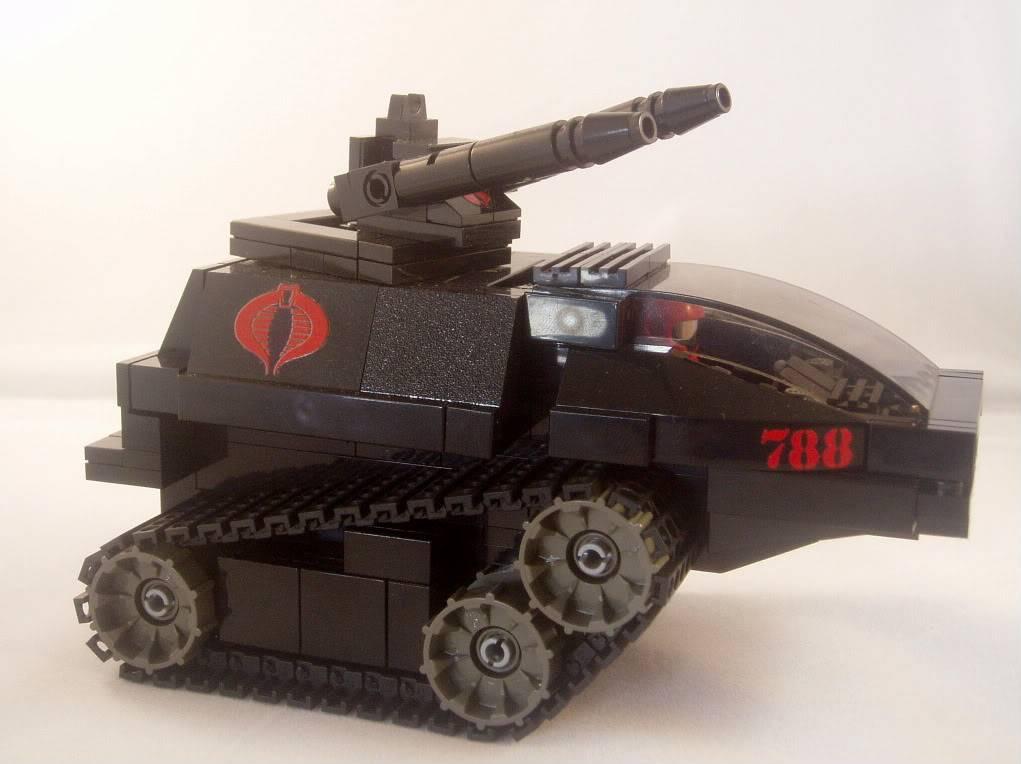 Lego Hiss Tank HISSTank