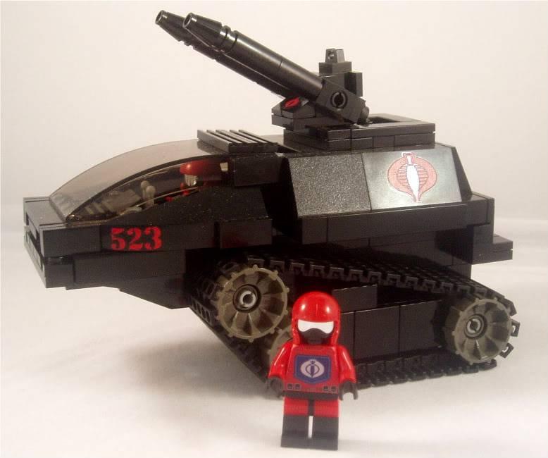 Lego Hiss Tank HISSTank8