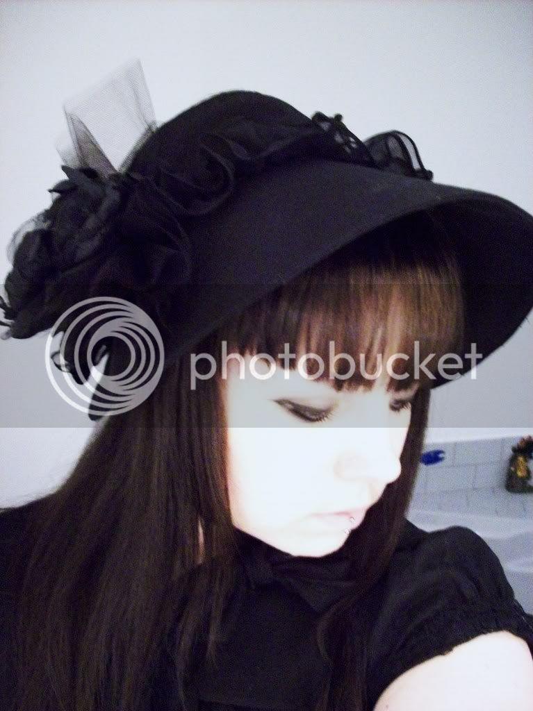 Fleur Engel~ Collection Gothique Lolita Chapeau_014