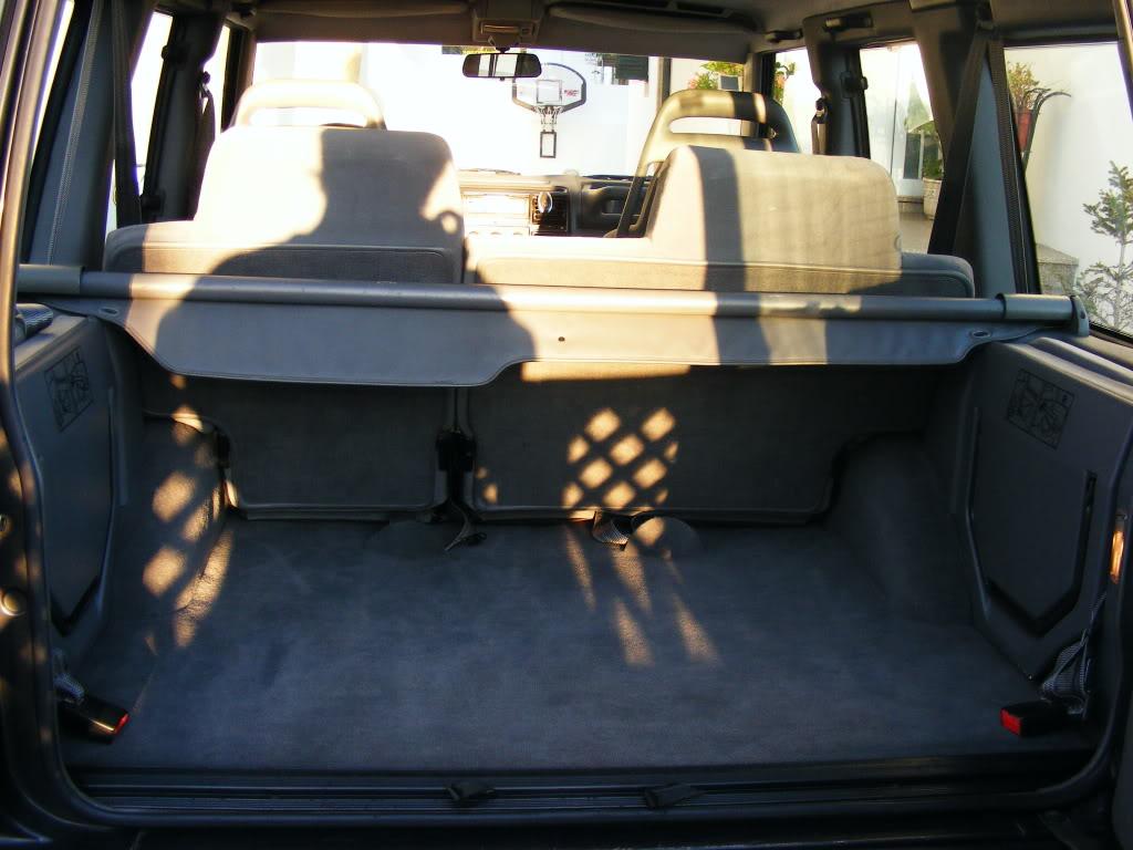 Tratamento Interior a Land Rover Discovery 300tdi de 94 2008_09140069