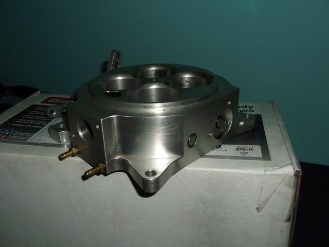 Accufab 4150 four barrel TB throttle body DSCF0122