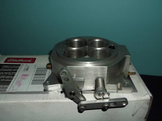 Accufab 4150 four barrel TB throttle body DSCF0123