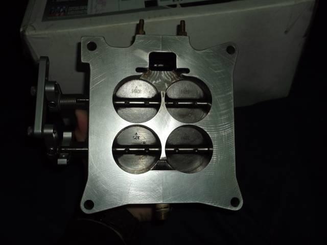 Accufab 4150 four barrel TB throttle body DSCF0124