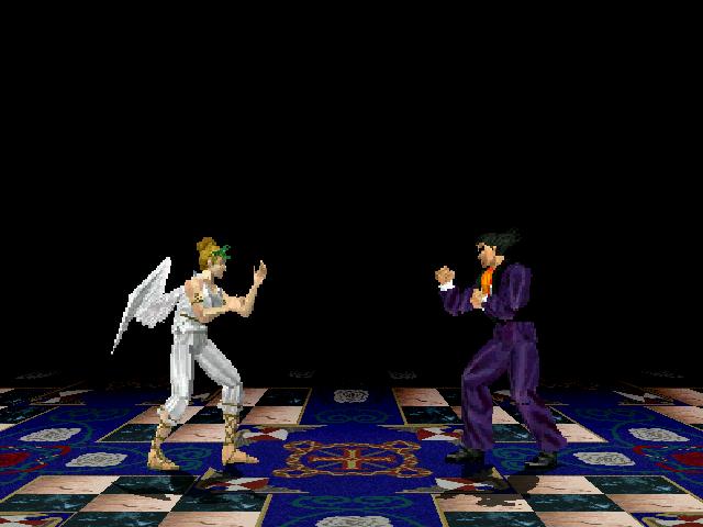 Tekken 2 PS1 - Kazuya stage by Tamez 11/14/10 Tekken2PS1-KazuyaStage