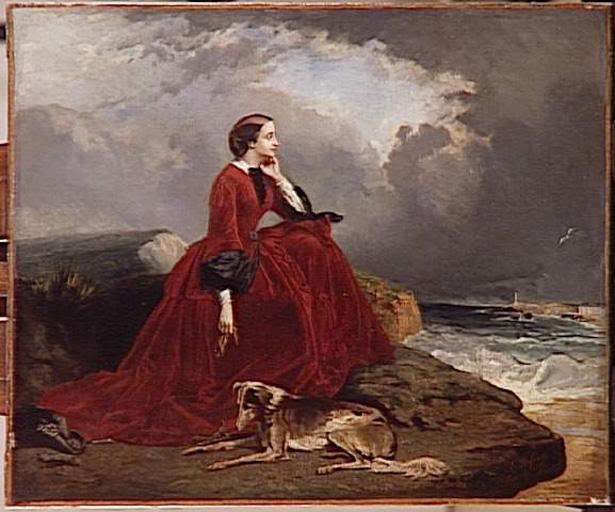 Eugenia de Montijo, emperatriz de Francia EugenieatBiarritz