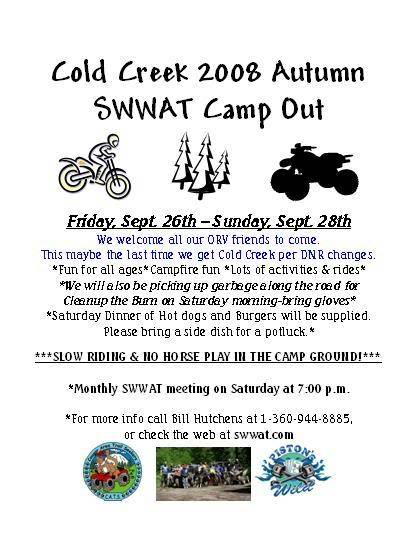 Sept 26-28 2008 Cold Creek Campout-Report 1coldcreekposter