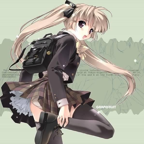 Cum ai arata in varianta anime (pt fete) varianta 3 SchoolGirl-1