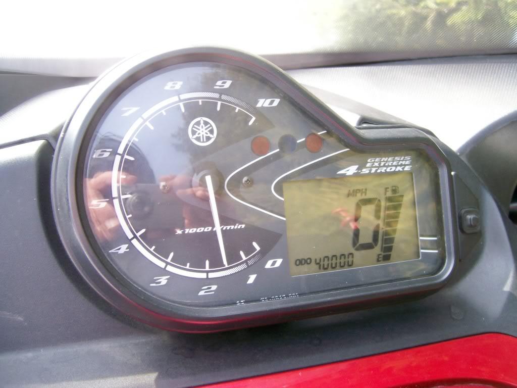 Hondo a passé le 40,000 milles 2005RSVenturerolls40000miles