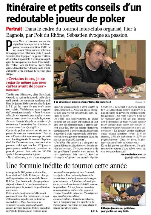 Midi Libre le 29/10/2012 Mlle29-10-2012