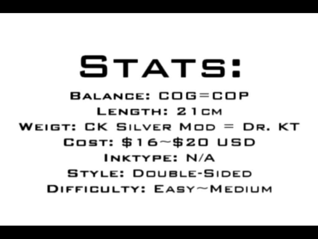 [DoS] CK Silver Mod Stats