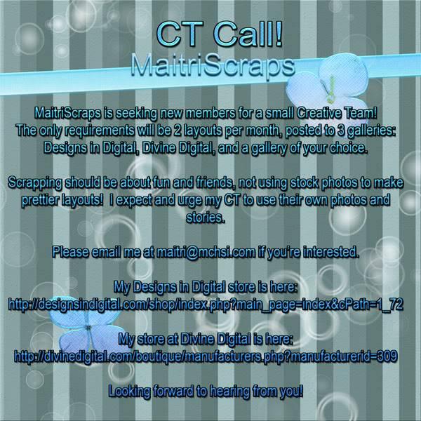 CT Call - MaitriScraps CTCall