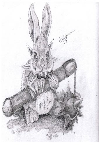 naoki's art!!!! Crackrabbit