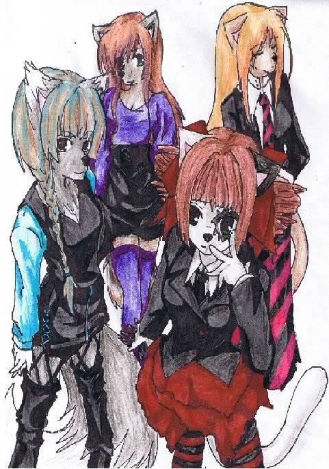 naoki's art!!!! Friends