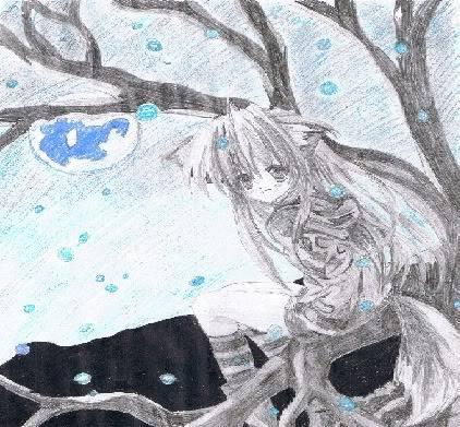 naoki's art!!!! Snowynight