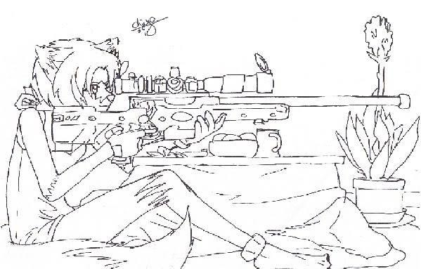 naoki's art!!!! Targetpractice