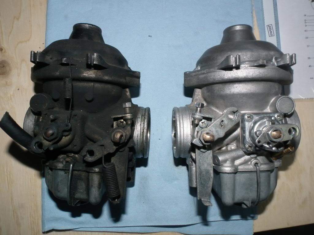 xt 1200 nettoyage injection BMWR100GSjaune185