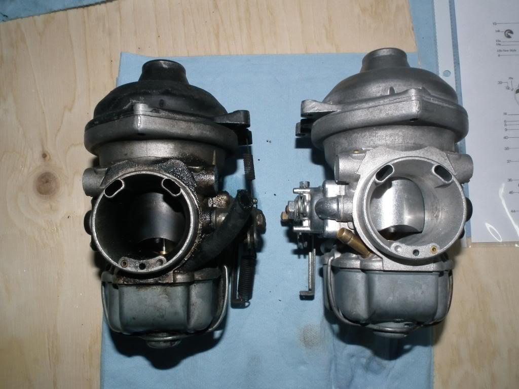 xt 1200 nettoyage injection BMWR100GSjaune188