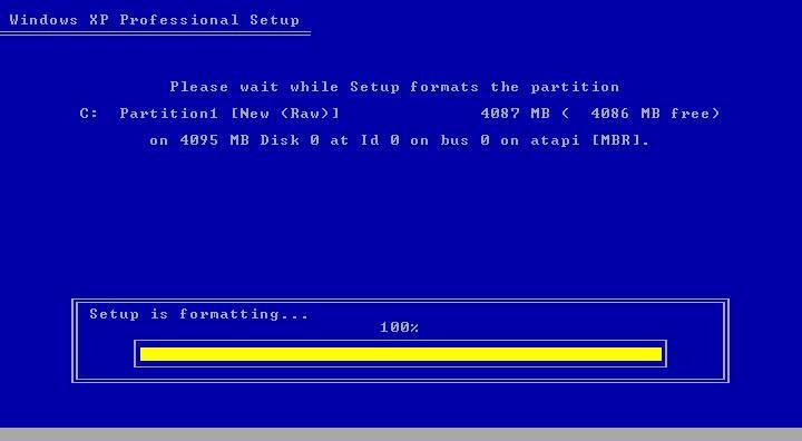 Instalacija XP-a Tut6