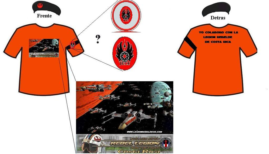 Logo para la Camiseta y gorra Camiseta1