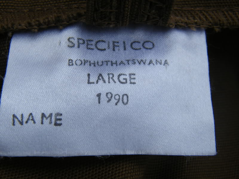 Bhoputswana Brown Shirt DSCF9295