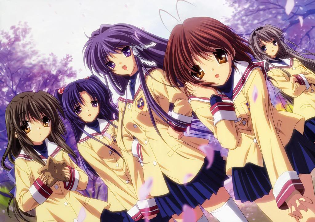 Uniformes anime Clannad11-1