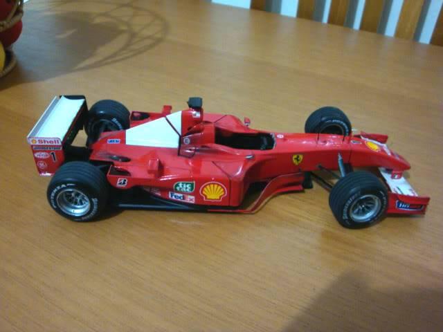 Ferrari F1 2001 - Michael Schumacher DSC00150