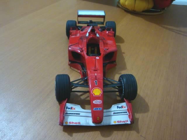Ferrari F1 2001 - Michael Schumacher DSC00151