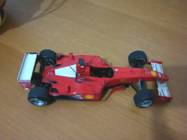 Ferrari F1 2001 - Michael Schumacher DSC00152