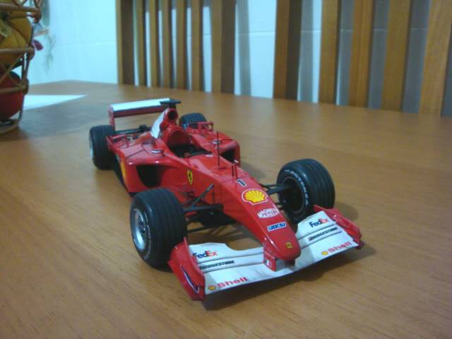 Ferrari F1 2001 - Michael Schumacher DSC00155