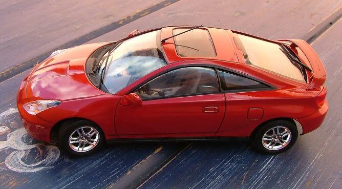 Novos modelos - Toyota Celica - Honda F1 Ra Celica1