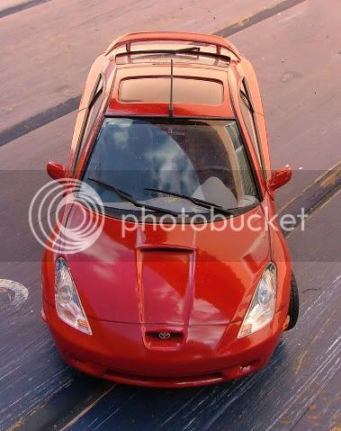 Novos modelos - Toyota Celica - Honda F1 Ra Celica2