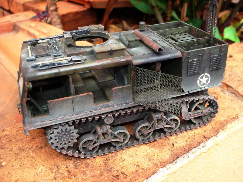 M 16 Half Track - M4 High Speed Tractor Hightrator1